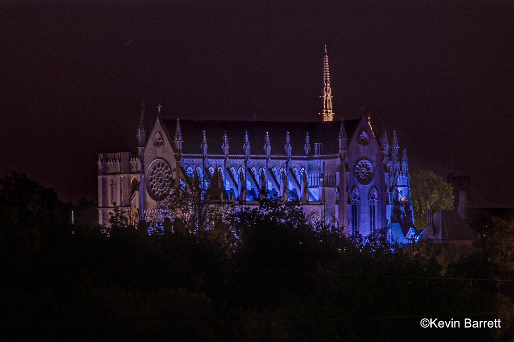 Arundel Cathedral VE Illumination ©Kevin Barrett